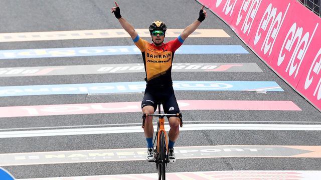 Jan Tratnik s'est imposé sur cette étape reliant Udine à San Daniele. [Massimo Paolone - Keystone]