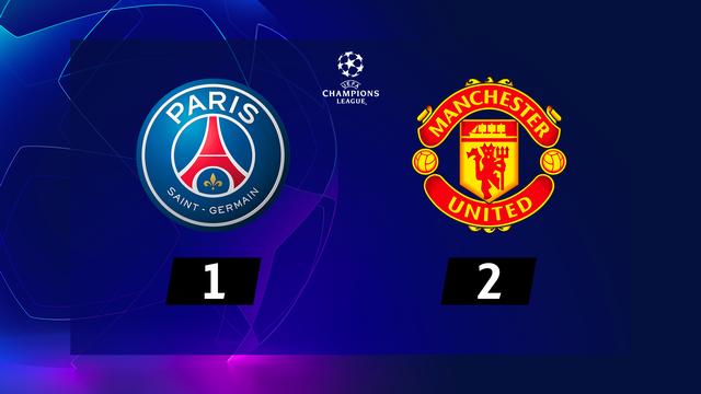 1re journée, PSG - Manchester United (1-2): Rashford crucifie le PSG en fin de rencontre [RTS]