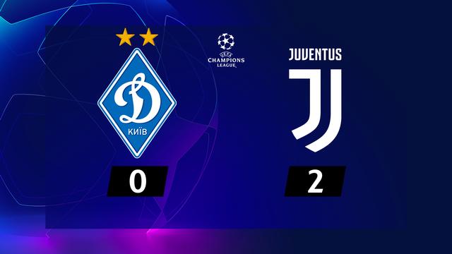 1re journée, Dynamo Kiev - Juventus (0-2): Morata offre la victoire à la Juve [RTS]