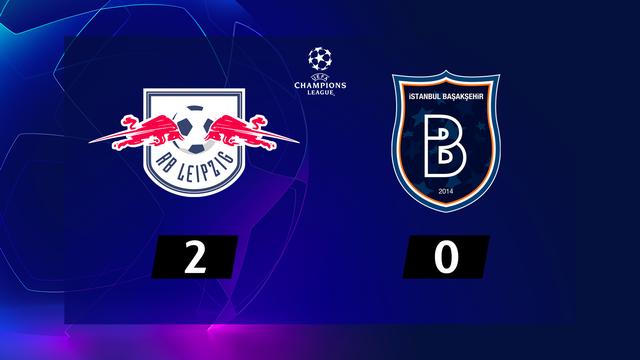 1re journée, RB Leipzig - Basaksehir (2-0): un doublé d'Angelino lance Leipzig [RTS]