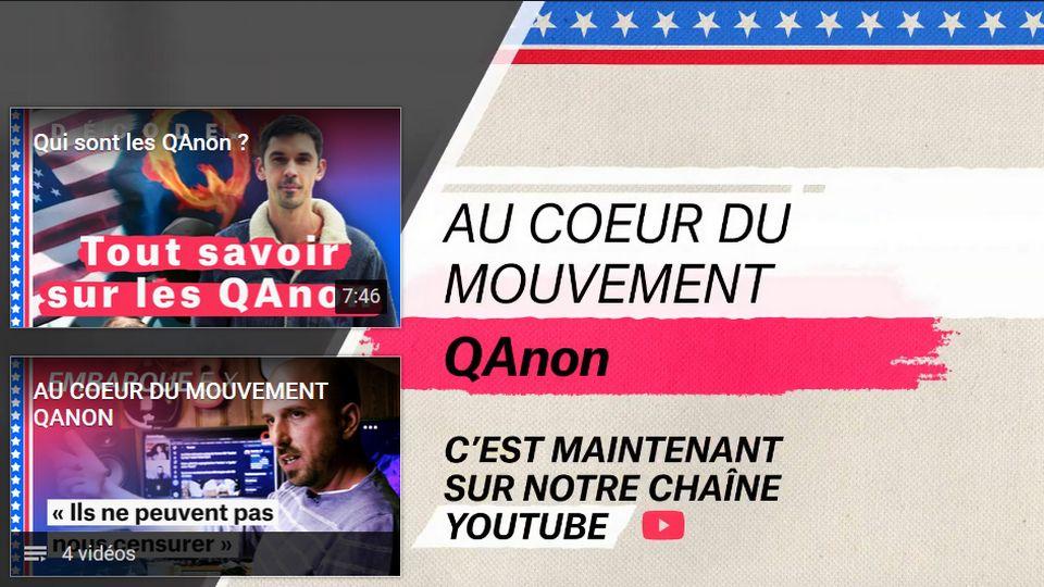 Nouvo - Au coeur du mouvement QAnon. [RTS]