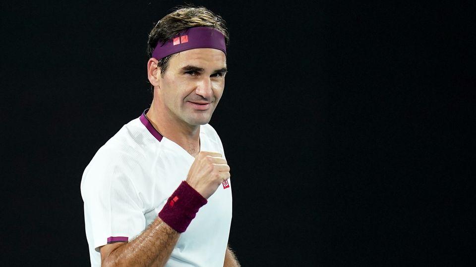 Roger Federer avait atteint les demi-finales de l'Open d'Australie en début d'année. [Dave Hunt - Keystone]