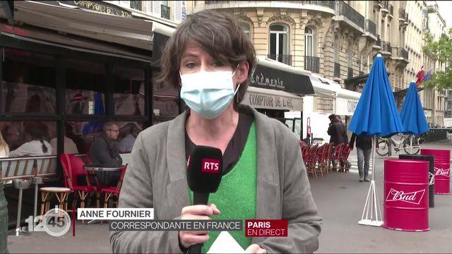 Couvre-feu instauré en France: les explications d'Anne Fournier [RTS]