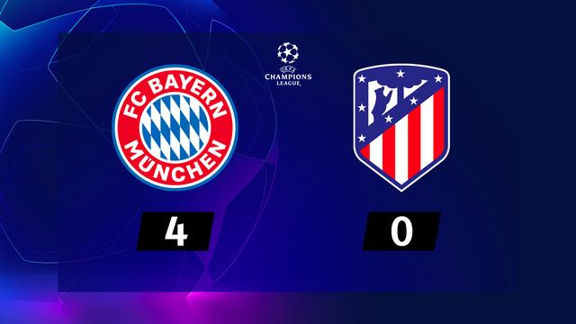 1re journée, Bayern Munich - Atlético Madrid (4-0): le Bayern roule sur l'Atlético
