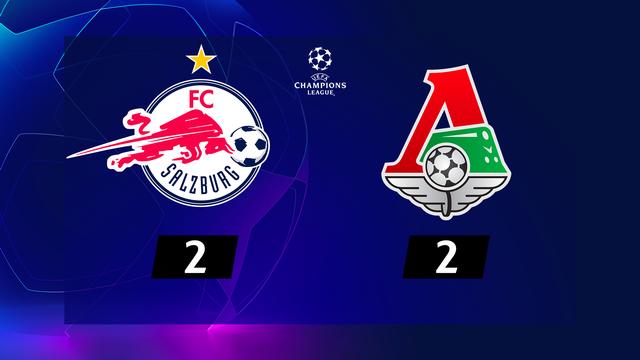 1re journée, Salzbourg – Lok.Moscou (2-2): le Lokomotiv ramène un point d'Autriche