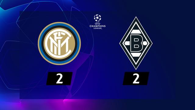 1re journée, Inter – Mönchengladbach (2-2): un doublé de Lukaku sauve l'Inter
