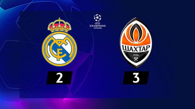 1re journée, Real Madrid - Shakhtar Donetsk (2-3): le Real s'incline d'entrée à domicile !
