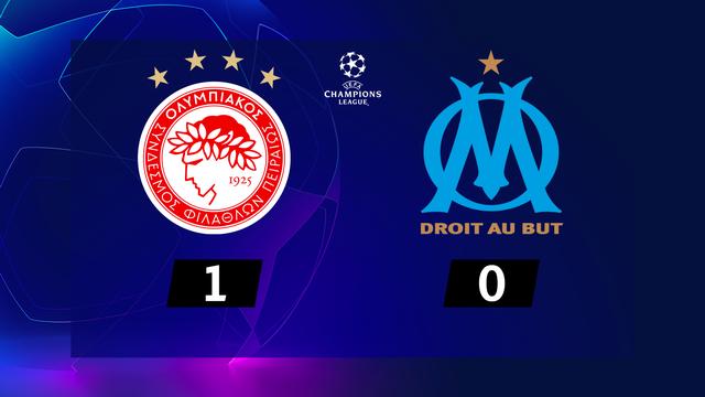 1re journée, Olympiakos - Marseille (1-0): l'OM s'incline en toute fin de rencontre