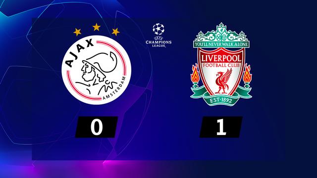 1re journée, Ajax - Liverpool (0-1): service minimum pour les Reds à Amsterdam