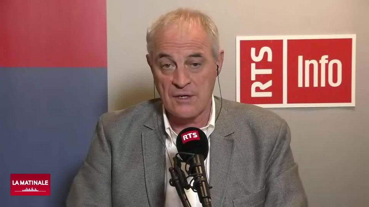 L'invité de La Matinale (vidéo) - Didier Pittet, médecin-chef du service de prévention des infections aux HUG. [RTS]