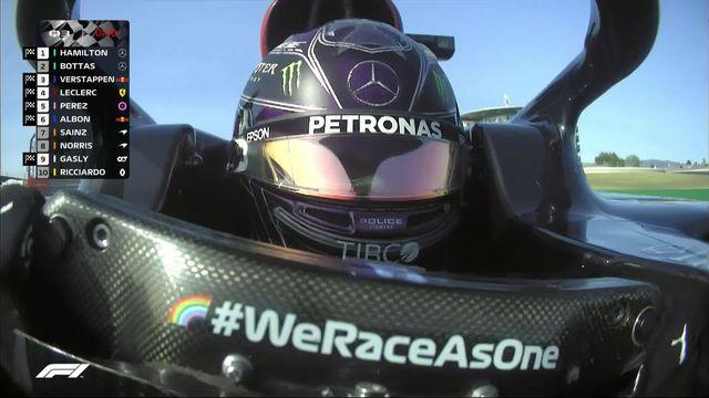 GP du Portugal (#12), Q3: la pole pour Hamilton (GBR) devant Bottas (FIN) et Verstappen (NED) [RTS]