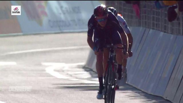 Cyclisme, Tour d'Italie, 20e étape: Tao Geoghegan Hart (GBR) remporte l'étape, deux hommes en tête du général [RTS]