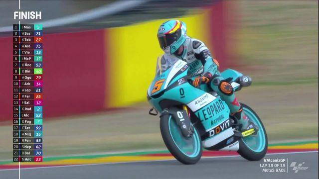 GP de Terruel (#10), Moto3: victoire au bout du suspense de Jaume Masia (ESP) [RTS]