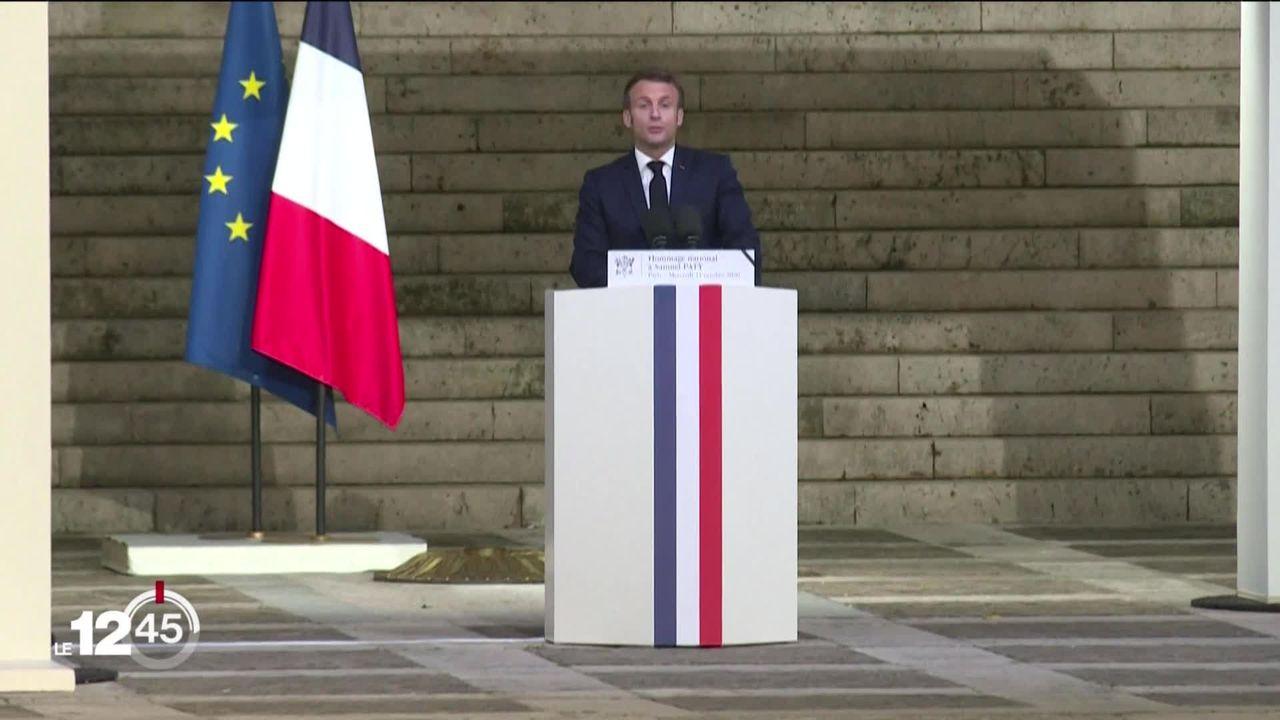 Le président français Emmanuel Macron rappelle son ambassadeur en Turquie. En cause un discours du président turc Erdogan [RTS]
