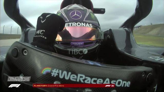 F1 : Lewis Hamilton remporte son 92e succès en Grand Prix et dépasse Michael Schumacher [RTS]