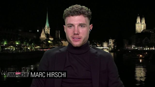 Cyclisme: interview de Marc Hirschi [RTS]