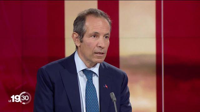 """Petros Mavromichalis : """"Les négociations avec la Suisse, pour nous, sont terminées. Maintenant, il s'agit d'aller de l'avant."""" [RTS]"""