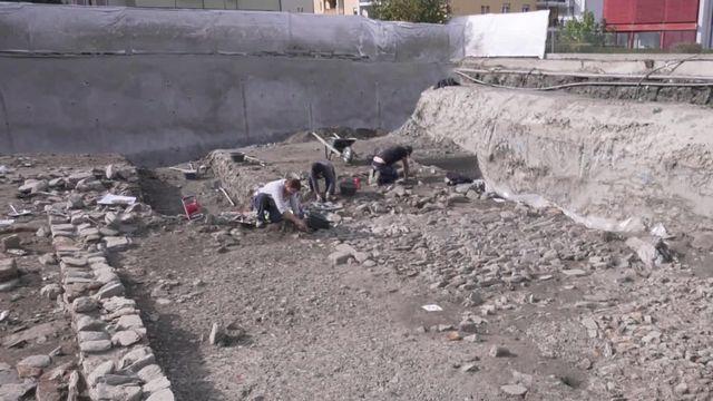 VS: Découverte archéologique exceptionnelle à Glis [RTS]