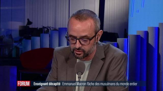 Emmanuel Macron fâche les musulmans du monde entier [RTS]
