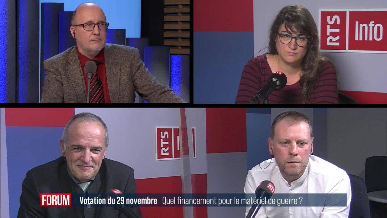 Le débat - Quel financement pour les producteurs de matériel de guerre ? [RTS]