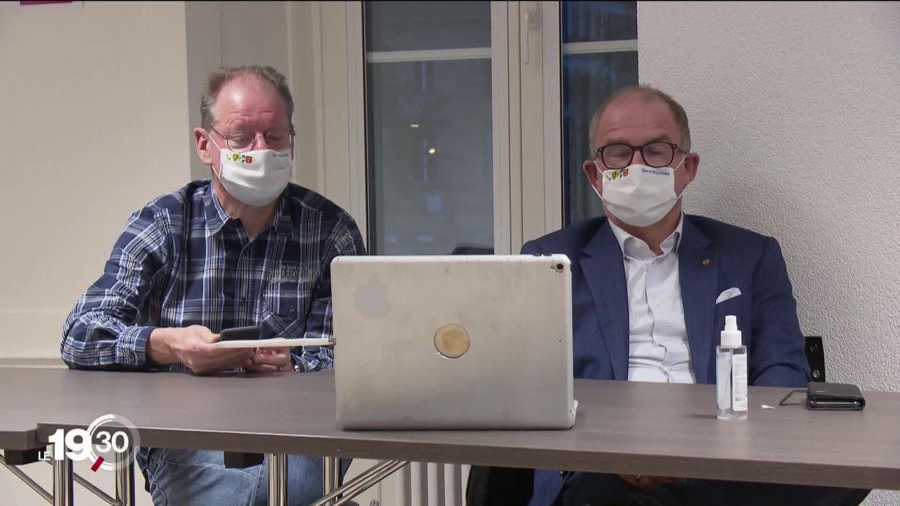 Neuchâtel a vécu dimanche électoral mouvementé en raison d'une panne informatique. [RTS]