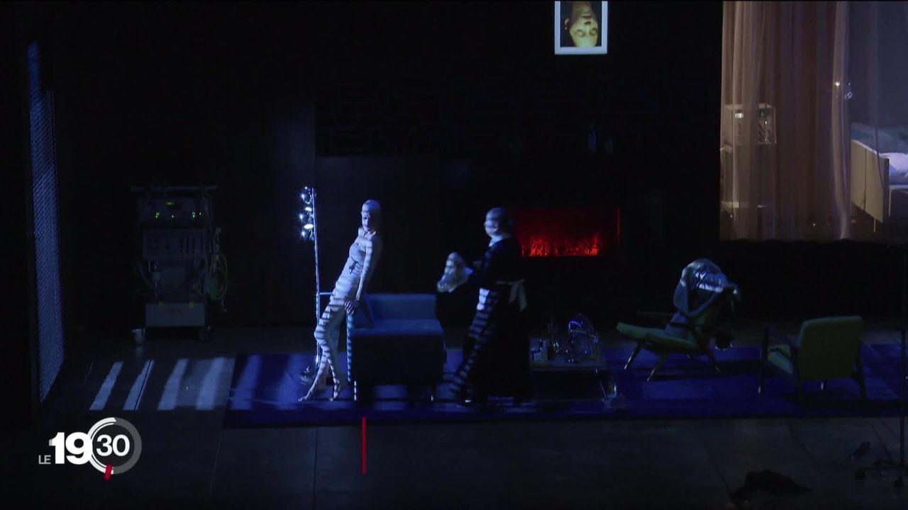 """Le grand théâtre de Genève présente dès ce soir """"L'affaire Makropoulos"""", une oeuvre jouée en l'absence de l'orchestre. [RTS]"""