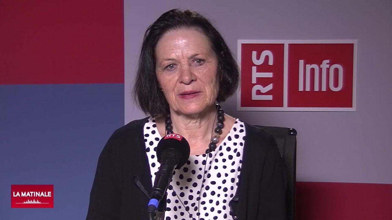 La situation sanitaire en Valais se dégrade: interview d'Esther Waeber-Kalbermatten (vidéo) [RTS]