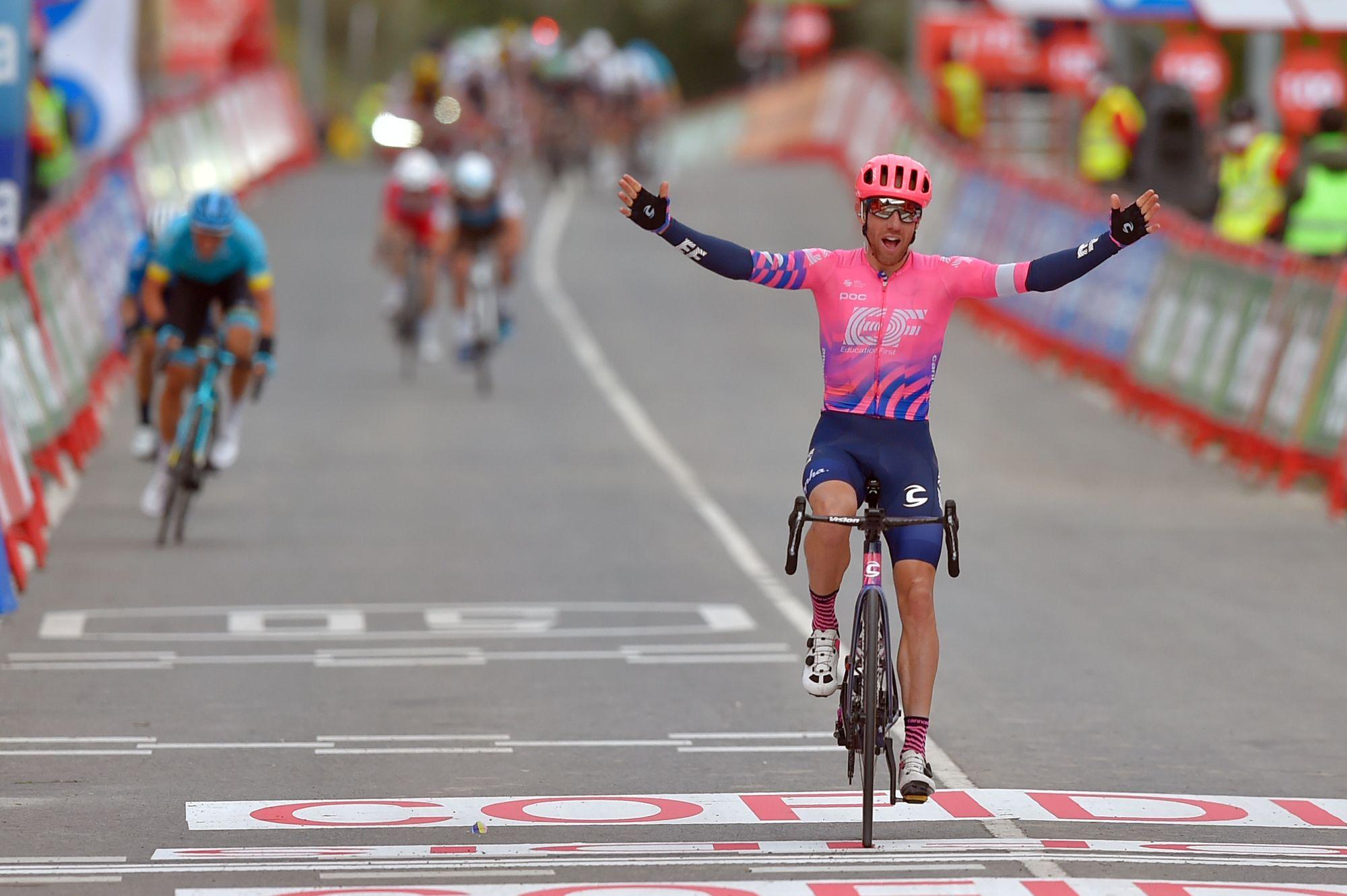 Tour d'Espagne: Michael Woods gagne la 7e étape