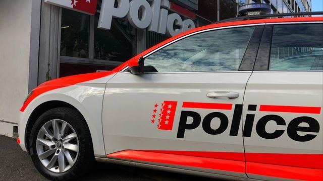 La police cantonale avait procédé à l'évacuation d'un étage du Palais du gouvernement à Sion. [Police cantonale valaisanne]
