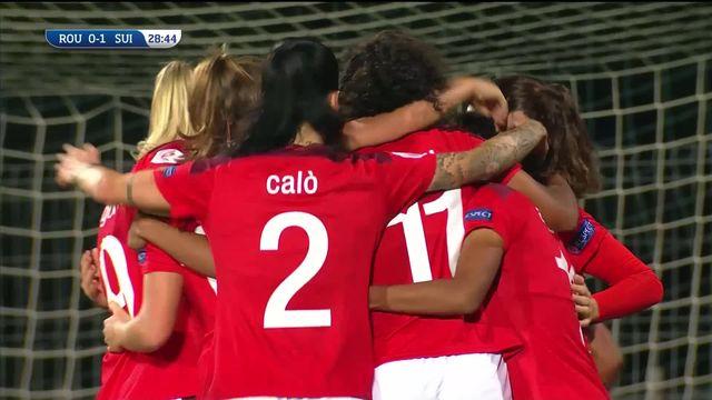 Roumanie - Suisse (0-2): les Suissesses se rapprochent de la qualification [RTS]