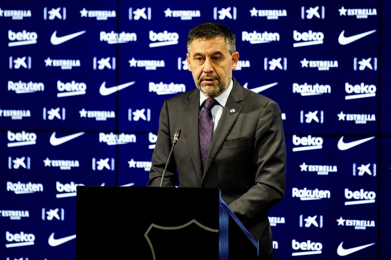 Liga: le président du FC Barcelone démissionne