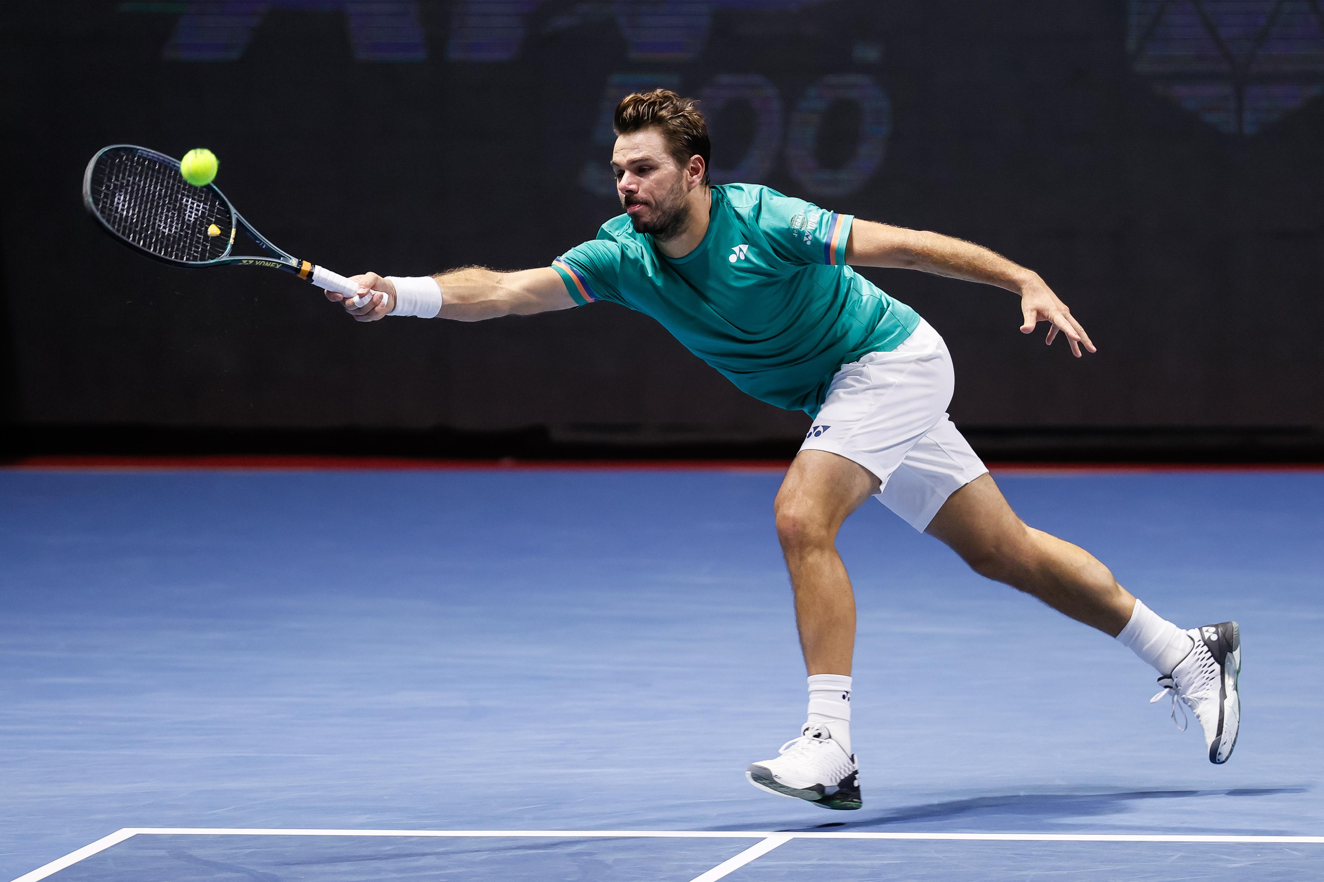 ATP Vienne: désillusion pour Wawrinka, éliminé d'entrée