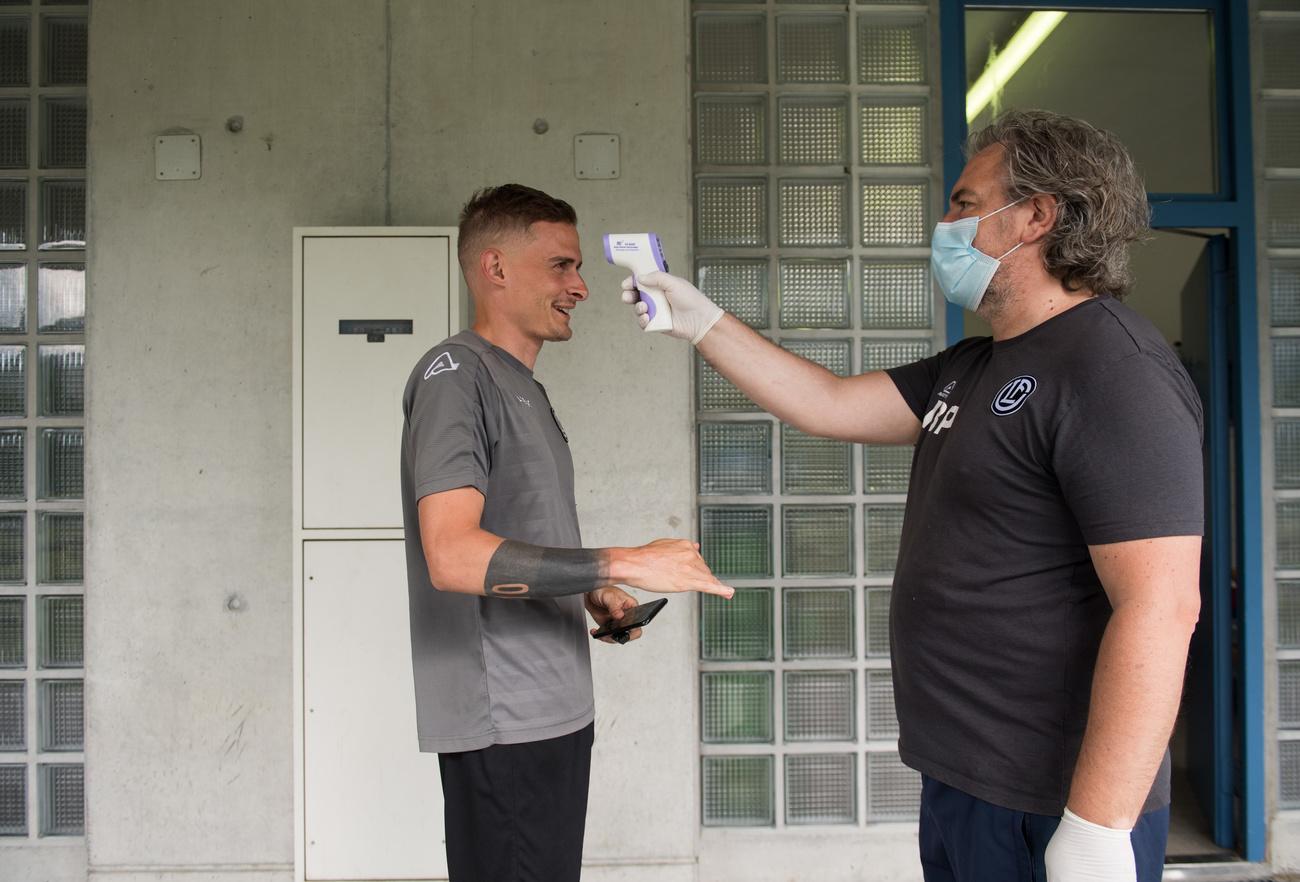 Super League: Bottani est testé positif, Lugano craint la quarantaine