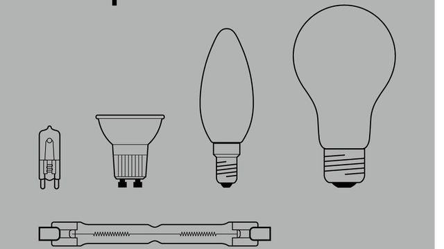 Les ampoules halogènes, qui donnent une belle lumière mais dont le rendement est catastrophique, ne peuvent pas toujours être remplacées par les beaucoup plus économes ampoules LED. [Alledin - Alledin]