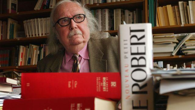 Le linguiste Alain Rey, décédé le 27 octobre 2020.  [Eric Feferberg - AFP]