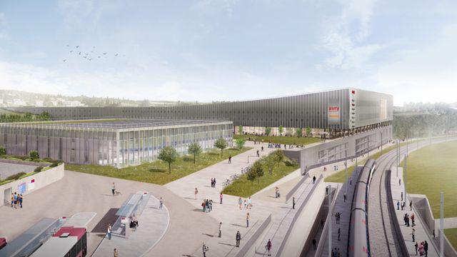 Coup de grâce pour le projet d'Avry-Centre après la révocation du plan d'affectation. [CCHE]