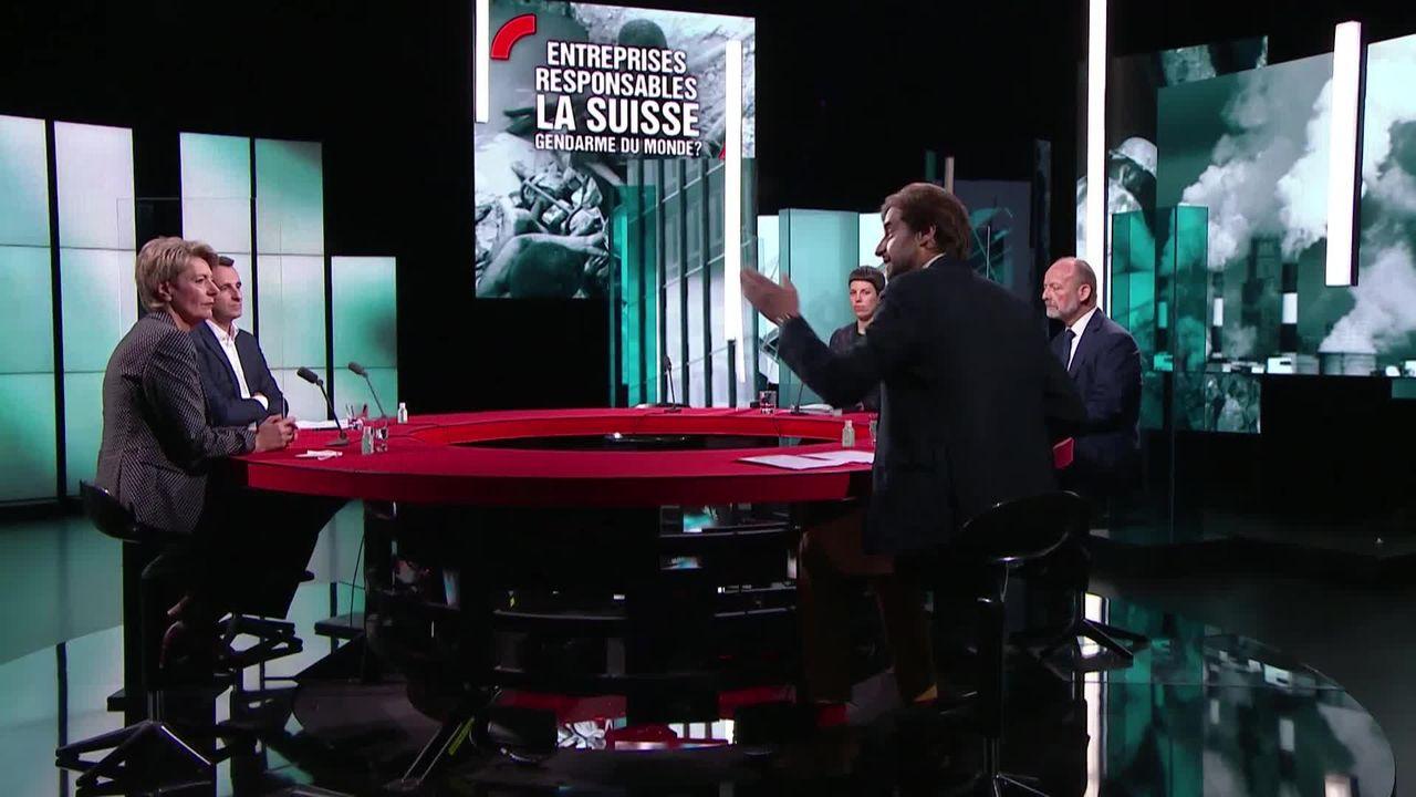 Entreprises responsables, la Suisse gendarme du monde? [RTS]