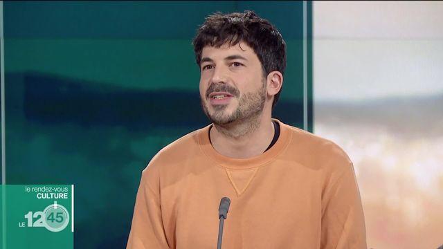 """Rendez-vous culture: Adrien Barazzone, acteur et metteur en scène. Il présente """"D'Après"""" une pièce de Knut Hamsun [RTS]"""