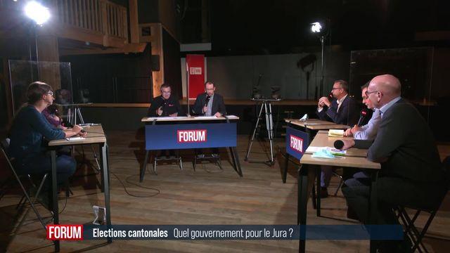 Le débat – Quel gouvernement pour le Jura? [RTS]