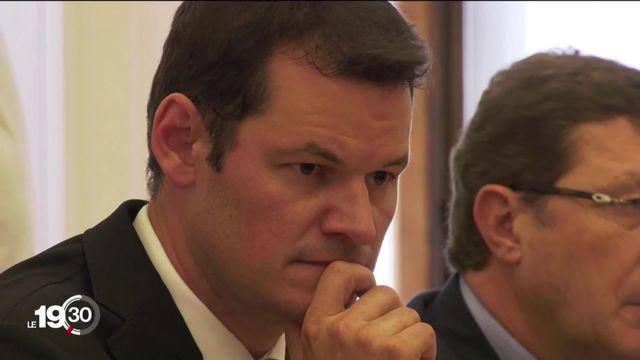 Grandeur et décadence, de la réélection triomphale de Pierre Maudet au Conseil d'État genevois jusqu'à sa démission [RTS]