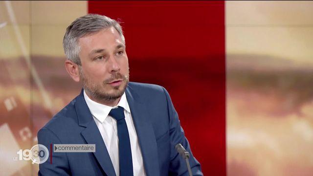"""Pierre-Olivier Volet: """"C'est une décision qu'il aurait dû prendre il y a longtemps. Il y a une forme de soulagement à Genève"""" [RTS]"""