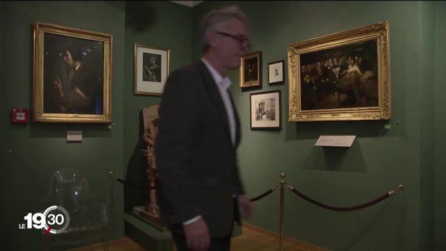 """Exposition """"Calvin en Amérique"""" au Musée international de la Réforme à Genève [RTS]"""