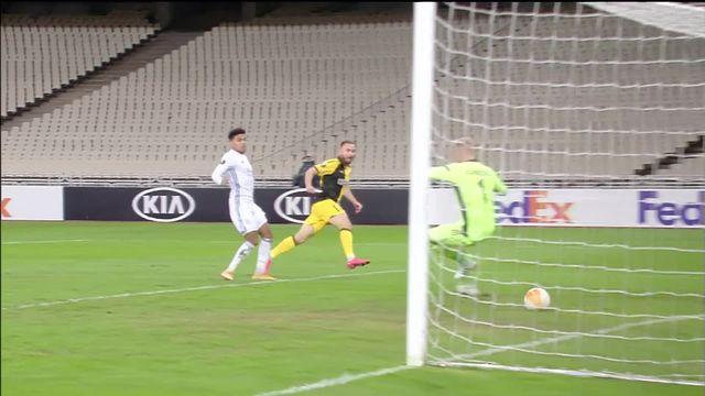 2e journée, AEK Athènes – Leicester City : Leicester s'impose grâce notamment à une réalisation de Vardy [RTS]