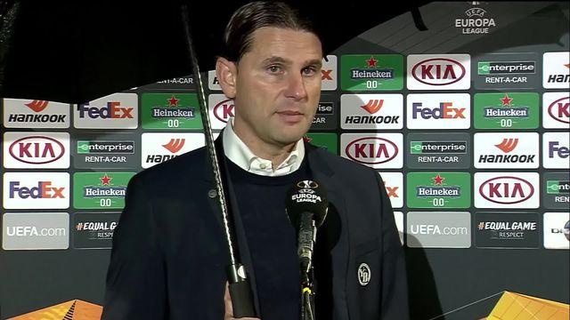 2e journée, Cluj – Young Boys (1-1): interview de Gerardo Seoane après la rencontre [RTS]