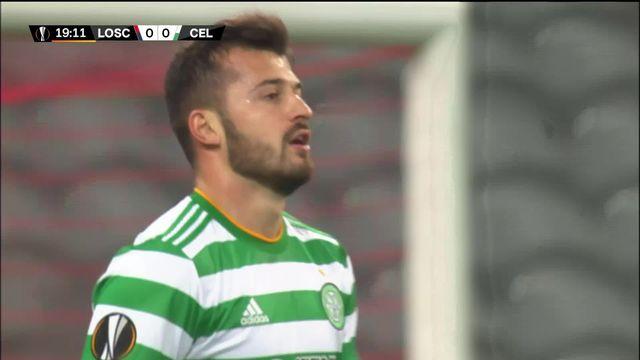 2e journée, Lille – Celtic (2-2) : mené de 2 buts, le LOSC parvient à égaliser [RTS]