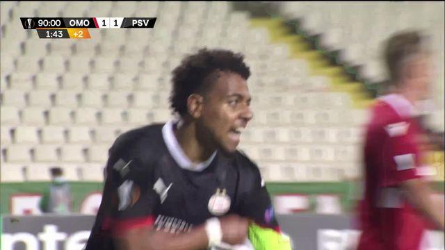 2e journée, O.Nicosie - PSV (1-2) : le PSV arrache la victoire dans les dernières secondes [RTS]