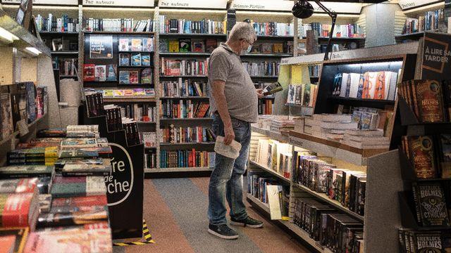 Une librairie à Bordeaux, le 25 mai 2020. [Valentino Belloni/Hans Lucas - AFP]