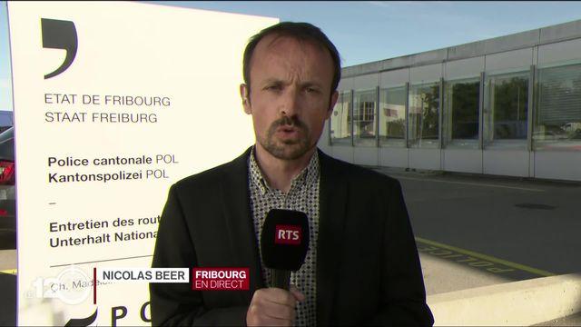 Nicolas Beer: Fribourg décrète l'état extraordinaire. [RTS]