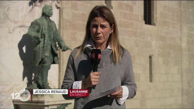 Jessica Renaud: dans le canton de Vaud, des limites plus strictes pour les rassemblements. [RTS]