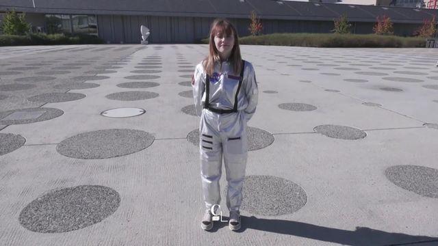 Son rêve: être la première femme sur la lune [RTS]